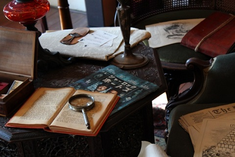 シャーロックホームズの部屋