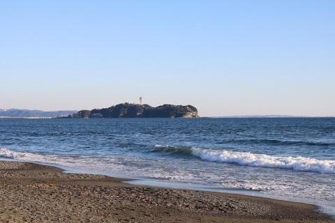 鎌倉・江ノ島の海