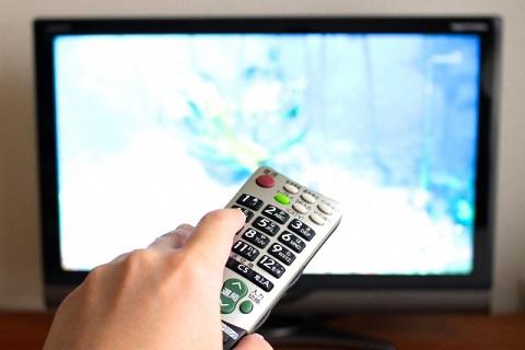 テレビで動画を見る